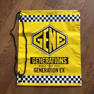 GENERATIONS - GENERATIONS 2015 ビニールバッグ