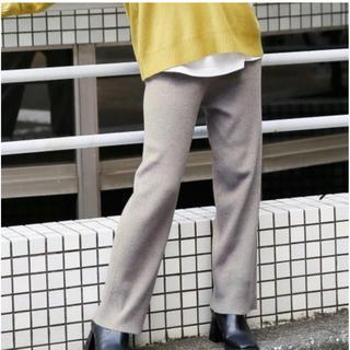 ローリーズファーム(LOWRYS FARM)のタグ付き♡ウール混ニットパンツ(カジュアルパンツ)
