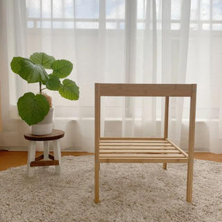 IKEA - イケア ベッドサイドテーブル NESNA ネスナ