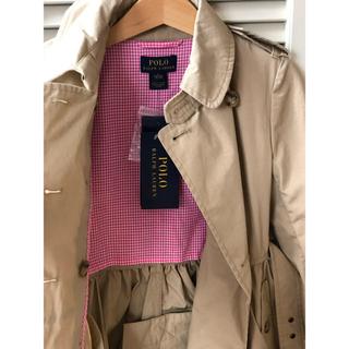 ラルフローレン(Ralph Lauren)の新品タグ付☆ POLO RALPH LAUREN トレンチコート 5Y 115(コート)