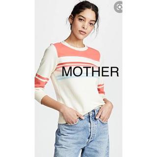 マザー(mother)の【新品】MOTHER マザー マンツーマン XS(Tシャツ(長袖/七分))