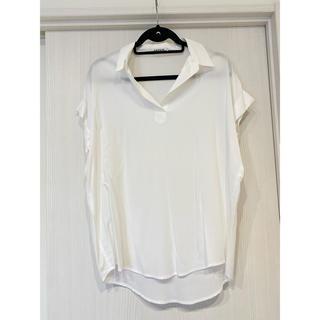 レプシィム(LEPSIM)のLEPSIM スキッパーシャツ フレンチスリーブ(シャツ/ブラウス(半袖/袖なし))
