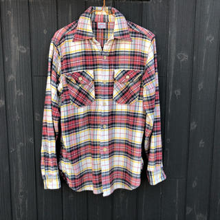 ウエアハウス(WAREHOUSE)のウェアハウス フランネルシャツ 中古品 サイズS(シャツ)