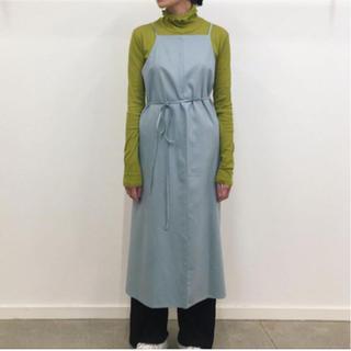 ビューティアンドユースユナイテッドアローズ(BEAUTY&YOUTH UNITED ARROWS)の【新品】baserange yumi apron dress(xs)(ロングワンピース/マキシワンピース)