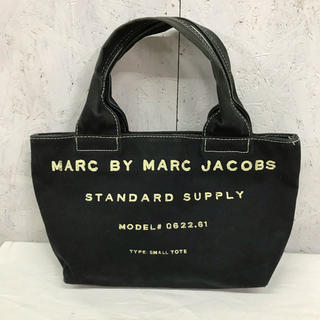 MARC BY MARC JACOBS ミニトートバッグ キャンバス ロゴ