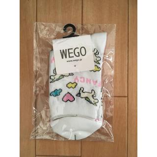 ウィゴー(WEGO)のWEGO レディース 靴下 23〜25㎝(ソックス)