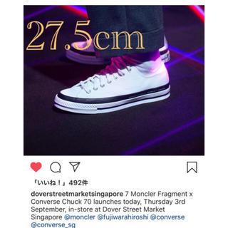 CONVERSE - 7 MONCLER x fragment x Converse Supreme