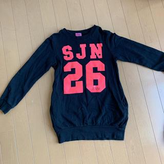 JENNI - ジェニィ ワンピース トレーナー 女の子 jenni 140 姉妹 双子
