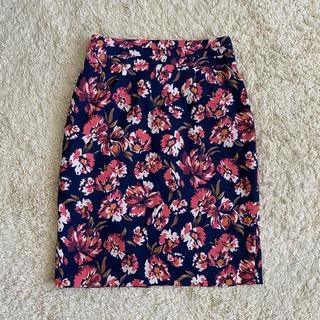 ロイヤルパーティー(ROYAL PARTY)のロイヤルパーティー 花柄スカート(ひざ丈スカート)