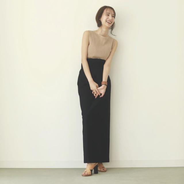 louren highwaist pencil skirt レディースのスカート(ロングスカート)の商品写真