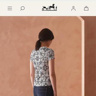 エルメス(Hermes)の2020 エルメス  トップス カットソー  Tシャツ 半袖 白(Tシャツ(半袖/袖なし))