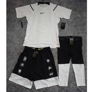 ナイキ(NIKE)の新品50%off NIKEナイキ 3点セットTシャツ、パンツ、スパッツ(ウェア)