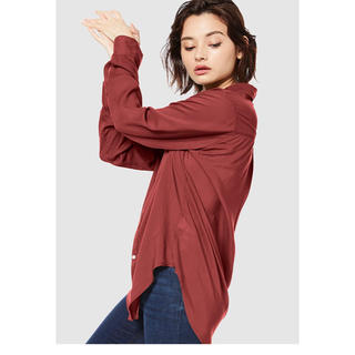 Ungrid - アングリッド テンセルローンシャツ 薄手 シャツ レディース