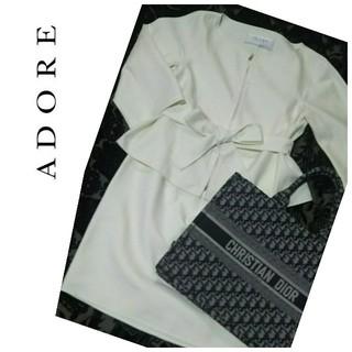 ADORE - ⭐️ADORE⭐️アドーア⭐️ジップアップジャケット スーツ セットアップ
