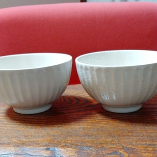 新品 美濃焼 茶碗 2個セット(食器)