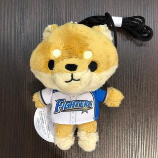 【新品】  日本ハムファイターズ しば犬 がま口 ポシェット 西川選手(^^)