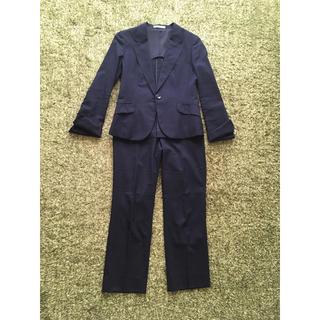 アオキ(AOKI)のレディース パンツスーツ2点セット(スーツ)