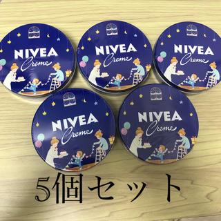ニベア(ニベア)のNIVEA クリーム 大缶 169g 5個セット(ボディクリーム)