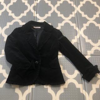 イプダ(epuda)の格安‼️epudaイプダ フリル付きジャケット(テーラードジャケット)