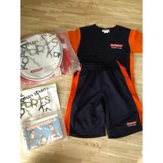 コナミ(KONAMI)のコナミスポーツクラブ120子供体操 ウエアリュック チャレンジノート バインダー(レッスンバッグ)