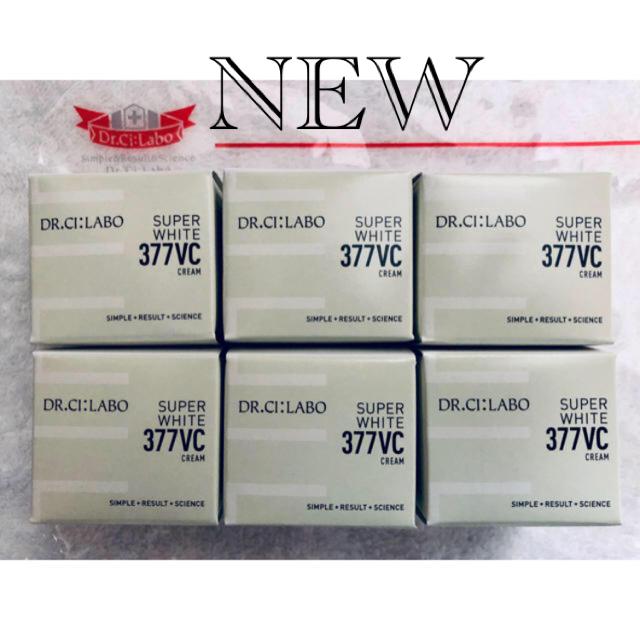 Dr.Ci Labo(ドクターシーラボ)のドクターシーラボ スーパーホワイト377VCクリーム9g6点(54g)  コスメ/美容のスキンケア/基礎化粧品(フェイスクリーム)の商品写真