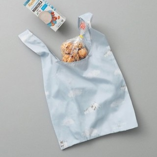 gelato pique - ジェラートピケ エコバッグ ブルー ランドリーベア