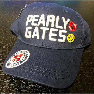 パーリーゲイツ(PEARLY GATES)のパーリーゲイツ キャップ【ネイビー】(キャップ)