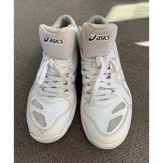 アシックス(asics)のアシックス バスケットシューズ スニーカー 白 27cm(バスケットボール)