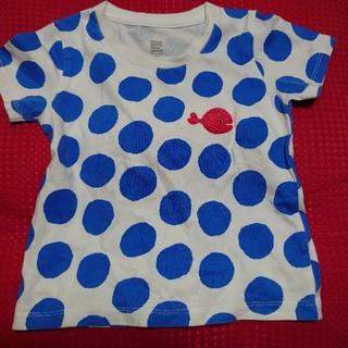 Design Tshirts Store graniph - graniph きんぎょがにげた Tシャツ 100 水玉 キッズ グラニフ