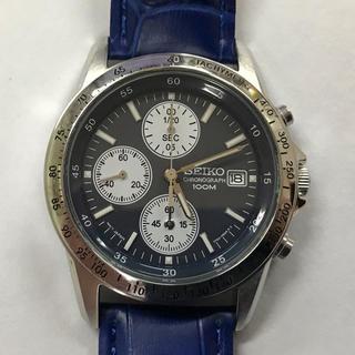 SEIKO - 腕時計 セイコー メンズ クロノグラフ