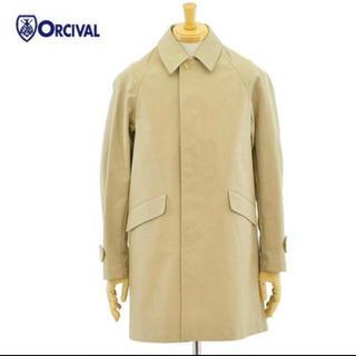 コモリ(COMOLI)の【美品・お値下げ】ORCIVAL ステンカラーコート(ステンカラーコート)