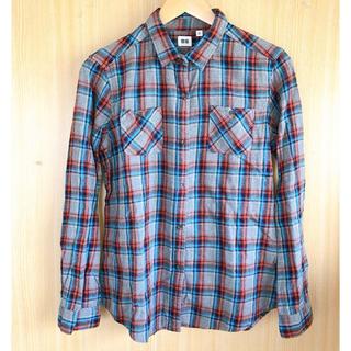 ユニクロ(UNIQLO)のユニクロ チェック シャツ XL(シャツ/ブラウス(長袖/七分))