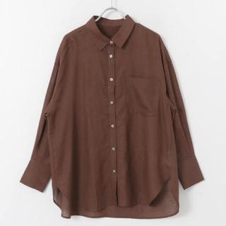 URBAN RESEARCH - リネンレーヨン2wayルーズシャツ