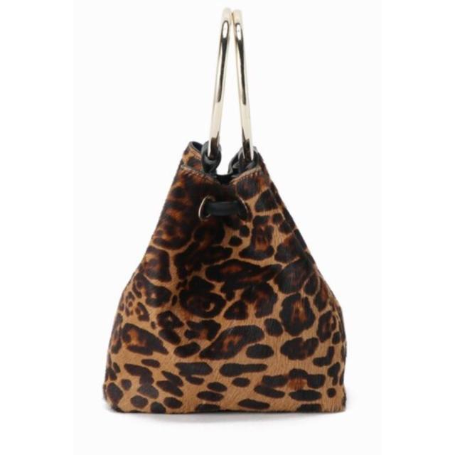 DEUXIEME CLASSE(ドゥーズィエムクラス)のMAISON BOINETレオパードbag☆deuxieme classe レディースのバッグ(ハンドバッグ)の商品写真