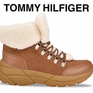 トミーヒルフィガー(TOMMY HILFIGER)のトミー ヒルフィガー ムートンブーツ ショートブーツ トレッキング シューツ(ブーツ)