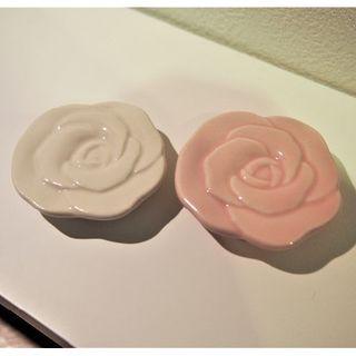 FELISSIMO - 箸置き ローズ・薔薇・バラ フェリシモ 2個セット