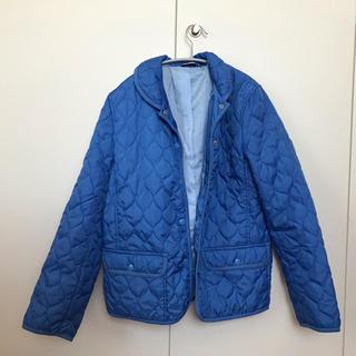 ユニクロ(UNIQLO)のキルティングジャケット(ブルー)(その他)