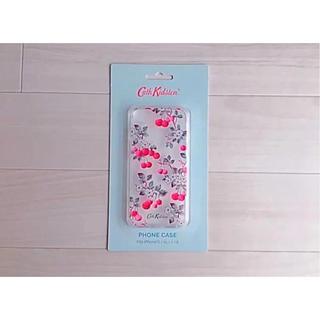 キャスキッドソン(Cath Kidston)の【新品】キャスキッドソン iPhone 6/6S/7/8ケース チェリースプリグ(iPhoneケース)