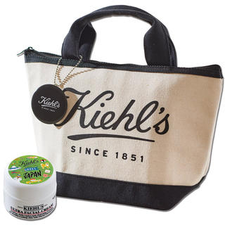 キールズ(Kiehl's)の【&ROSYアンドロージー 19年9月付録】キールズ 夏のビューティ3点セットF(トートバッグ)