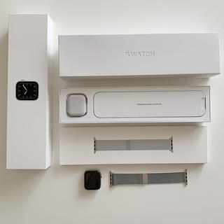 Apple Watch - Apple Watch series5 ステンレス アップルウォッチ 40mm
