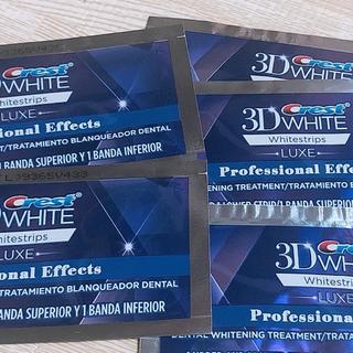 5枚 クレスト3Dホワイトストリップス LUXEプロフェッショナル・エフェクト