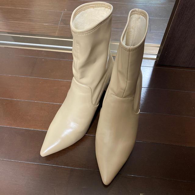 FRAY I.D(フレイアイディー)のセルフォード☆ショートブーツ美品 レディースの靴/シューズ(ブーティ)の商品写真