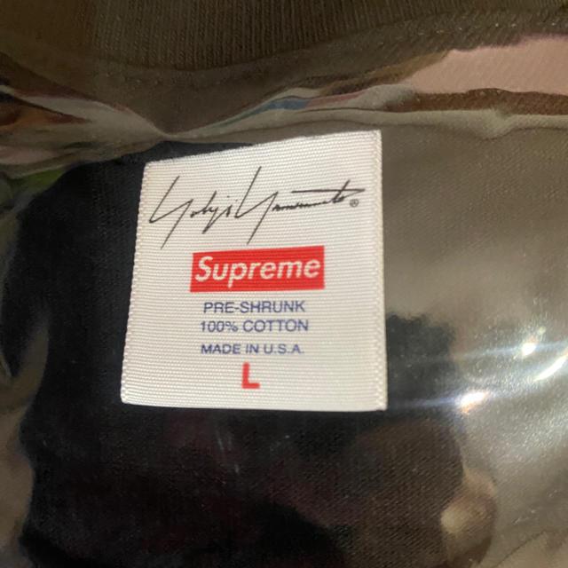 Supreme(シュプリーム)のL Supreme Yohji Yamamoto LogoTee メンズのトップス(Tシャツ/カットソー(半袖/袖なし))の商品写真