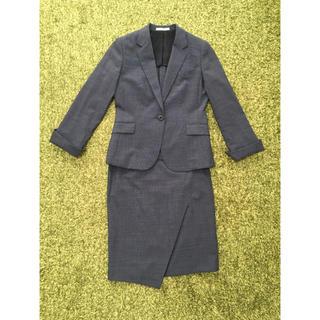 アオキ(AOKI)のAOKI レディース スカートスーツ2点セット(スーツ)