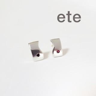 ete - エテ k18 ピアス