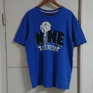 NIKE - NIKE ナイキ Tシャツ 古着 デカロゴ バスケットボール