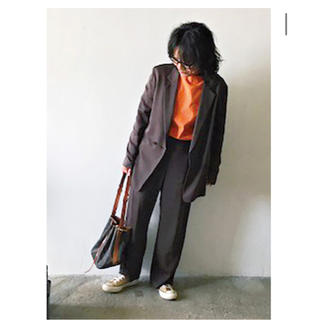 FRAMeWORK - 金子綾さん着用 saint james オレンジ