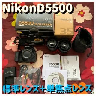 Nikon - Nikonn d5500 一眼レフ