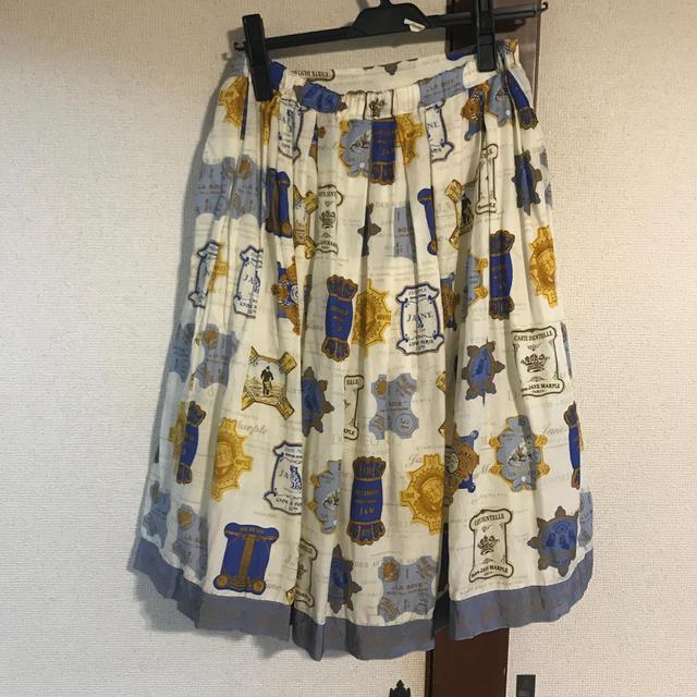 JaneMarple(ジェーンマープル)のCartes À Fils スカート レディースのスカート(ひざ丈スカート)の商品写真