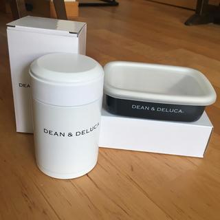 ディーンアンドデルーカ(DEAN & DELUCA)の新品 DEAN&DELUCA スープポット ホーローコンテナS(弁当用品)